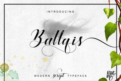 Ballqis Script