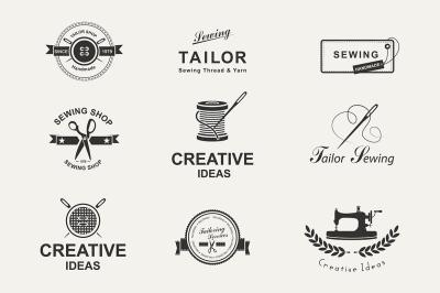 Tailor shop emblems