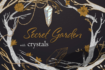 Crystals - Secret Garden set#2.