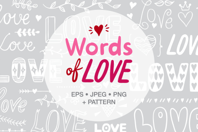 Words of Love elements