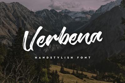 Verbena Handstylish Font