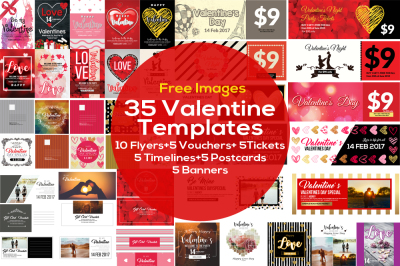 35 Valentines Day Templates