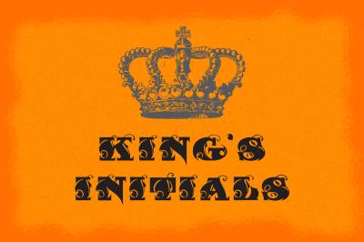KING's Initials