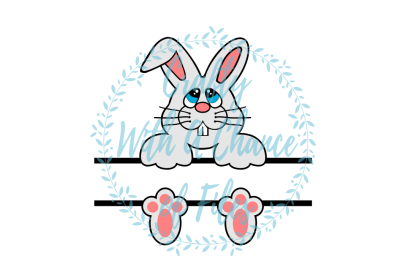 Easter SVG * Split Bunny SVG * Split Boy Easter Basket SVG * Split Girl Easter Basket SVG * Easter Monogram Frame SVG * Split Bunny Design SVG *