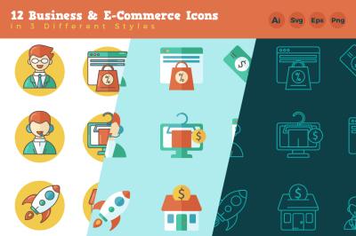 Business & E-Commerce Icon