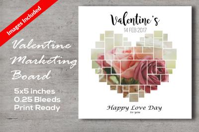 Valentine's Marketing Board