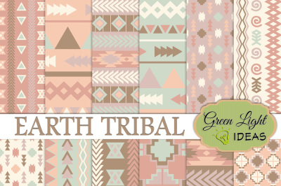 Earth Tribal Digital Papers