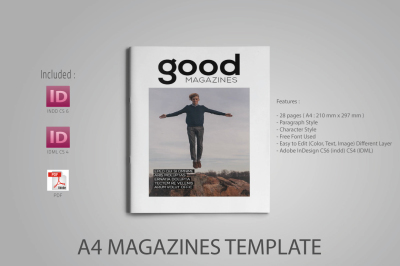 A4 Good Magazines