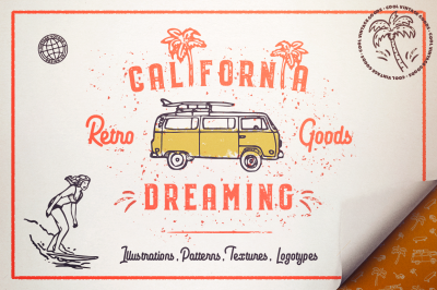 California Dreamin' • Graphic Pack