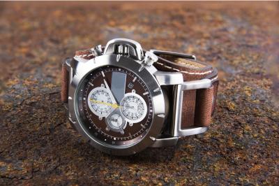 Fashion metal waterproof watch