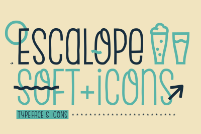 Escalope Soft + Icons