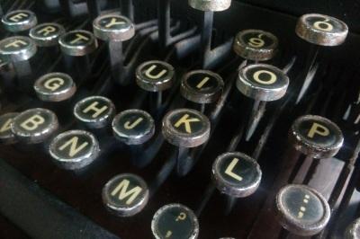 Old-Typewriter Keys