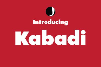 Kabadi-Amazing Font