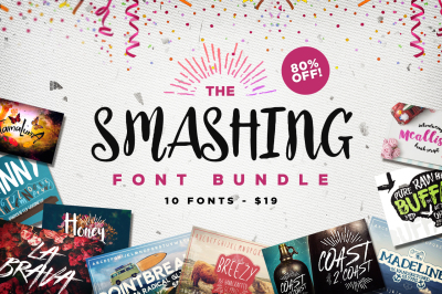 The Smashing Font Bundle