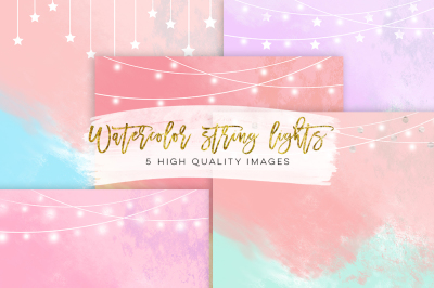 Fairy Lights Clipart paper, string Lights Clipart paper, instant download, wedding invitation clip art, wedding invitation paper texture