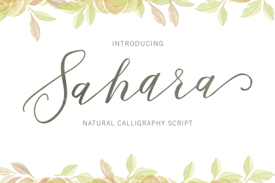 Sahara Script