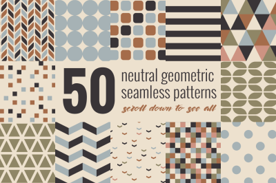 Minimal Geometric Patterns Bundle