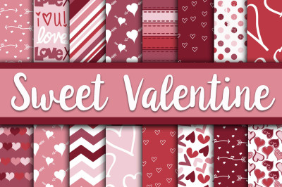 Sweet Valentine Digital Paper