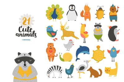 21 cute animals