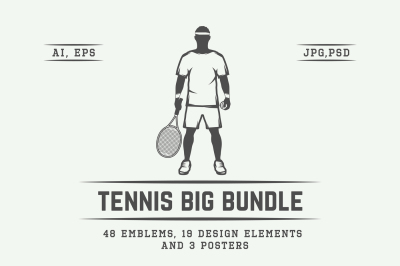 Tennis Emblems Bundle