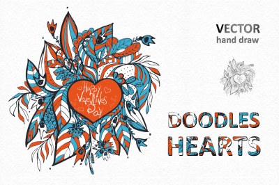 Doodles Heart