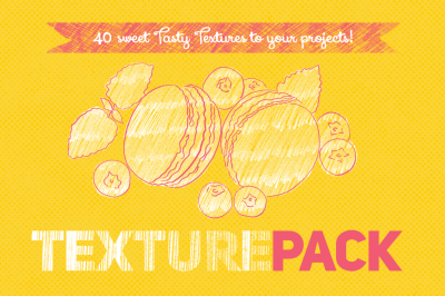40 Sweet Tasty Textures Pack
