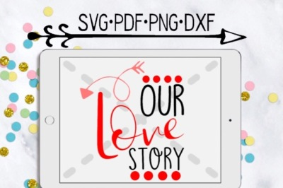 Our Love Story Cutting Design