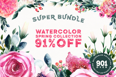 91% OFF Spring Super Bundle