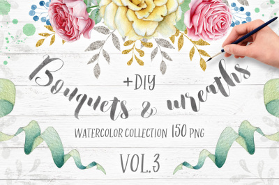 Wreaths and Bouquets collection Vol.3