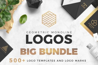 BIG DEAL ? Geometric Logo Pack