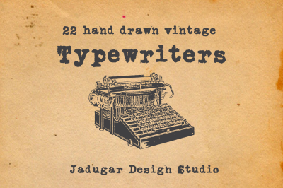 22- Typewriters
