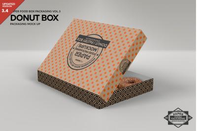 811+ Free Donut Box Mockup Best Free Mockups