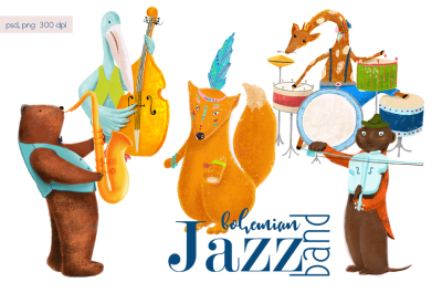 Animals jazz band