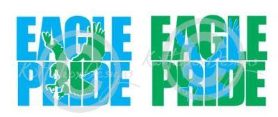 Eagle Pride Knockout Svg, High School Svg, Dxf , Eps File