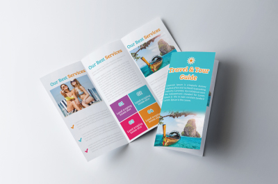 Tour Travel Trifold Brochure