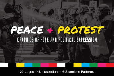 Peace and Protest Logos and Graphics