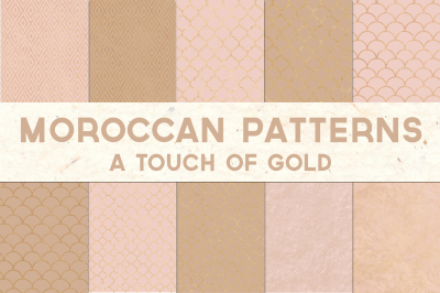 A Touch of Moroccan Gold