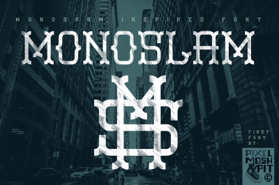 Monoslam Font