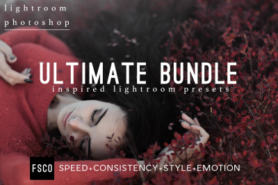 Ultimate Bundle Lightroom Presets & Photoshop ACR Filters