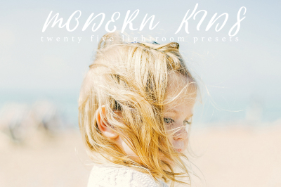 Modern Kids Lightroom Presets