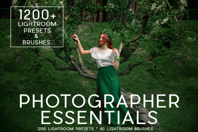 1200+ Pro Lightroom Presets and 40 Lightroom Brushes Professional Photo Editing for Portraits, Newborns, Weddings