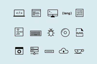 15 Coding Icons