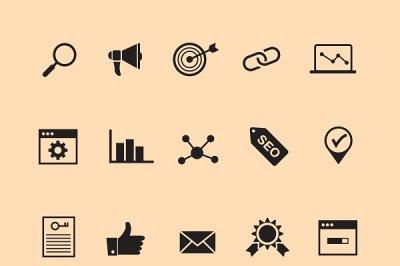 15 SEO Icons