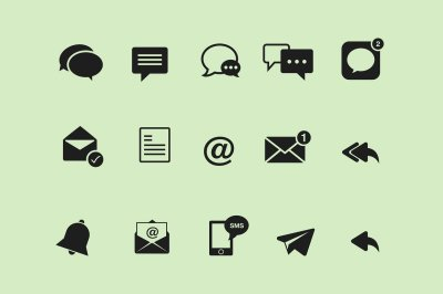 15 Messaging Icons