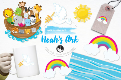 Noah's Ark graphics and