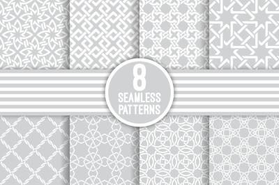 Luxury geometrical seamless patterns