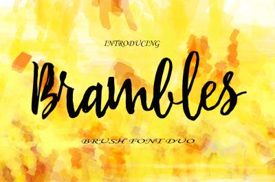Brambles Font Duo