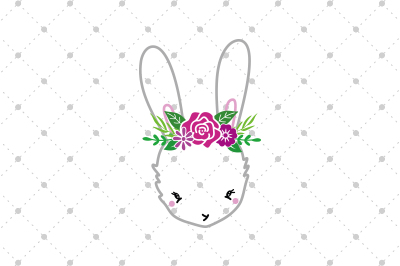 Easter bunny SVG files