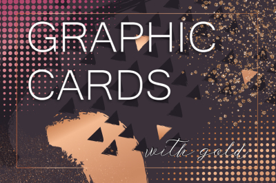 Graphic cards with rose gold