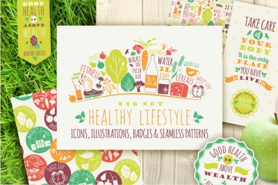 Healthy lifestyle collections